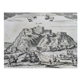 Uitzicht van Lhasa, hoofdstad van Tibet Briefkaart