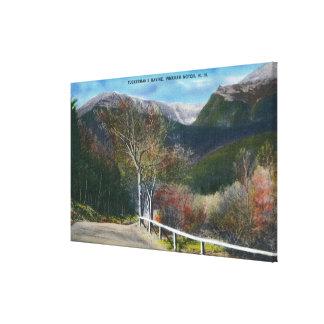 Uitzicht van Ravijn Tuckermans Canvas Afdruk