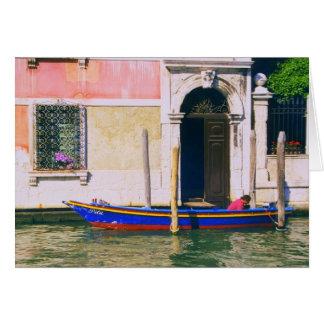 Uitzicht van Venetiaanse Boot op het Grote Kanaal Briefkaarten 0