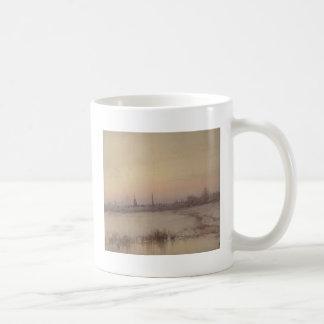 Uitzicht van Washington, gelijkstroom die uit Koffiemok
