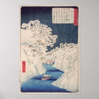 Uitzichten van Edo Poster