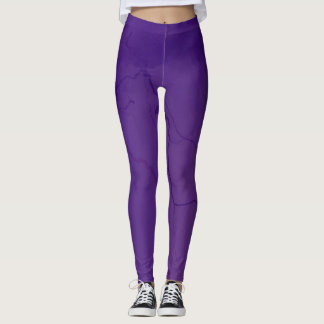 Ultraviolette Beenkappen Leggings