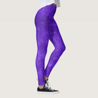 Ultraviolette melkweg trendy beenkappen leggings