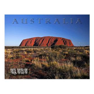 Uluru (Rots Ayers), Australië Briefkaart
