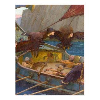 Ulysses en de Sirenes Briefkaart