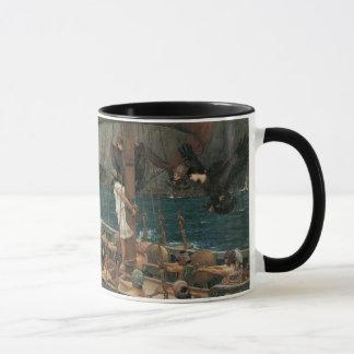 Ulysses en de Sirenes door JW Waterhouse Mok