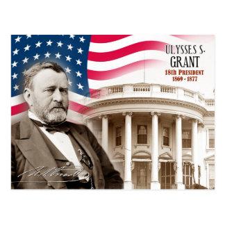 Ulysses S. Grant - 18de President van de V.S. Briefkaart