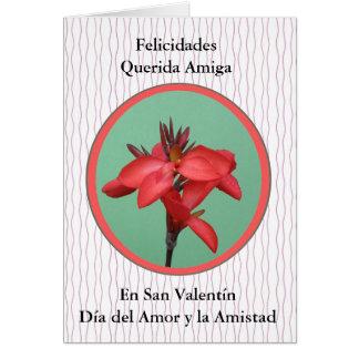Una Amiga van Paragraaf van San Valentin Briefkaarten 0