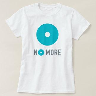 Unfitted T-shirt van NIET MEER Vrouwen