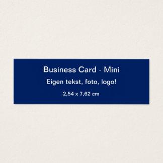 Uni Blauw van Klein van Visitekaartje Mini Visitekaartjes