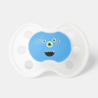 Uniek Grappig Gek Leuk Blauw Monster Baby Speentje