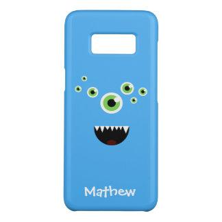 Uniek Grappig Gek Leuk Blauw Monster Case-Mate Samsung Galaxy S8 Hoesje