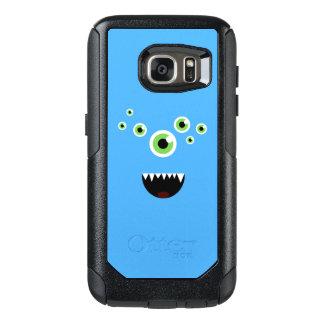 Uniek Grappig Gek Leuk Blauw Monster OtterBox Samsung Galaxy S7 Hoesje