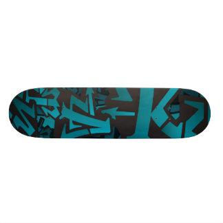 Uniek Skateboard Graffiti
