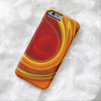 unieke gele marmeren de laserlijnen van zonstralen barely there iPhone 6 hoesje