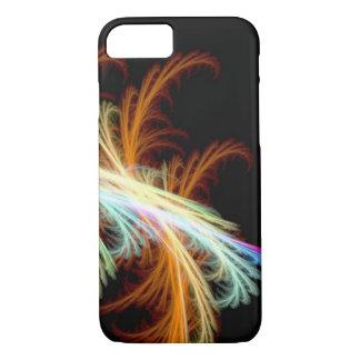 unieke gouden van de de veerlaser van de zonstraal iPhone 7 hoesje