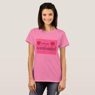 Unieke verwezenlijkingen - Cuteness Overbelaste T Shirt