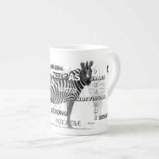 Unieke Zebras Theekop