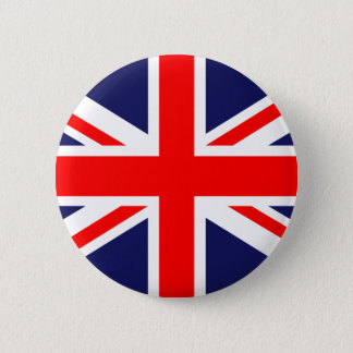Union Jack - Britse Vlag Ronde Button 5,7 Cm