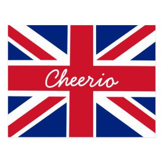 Union Jack Cheerio Briefkaart
