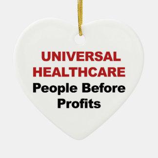 Universele Gezondheidszorg Keramisch Hart Ornament