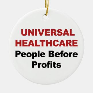 Universele Gezondheidszorg Rond Keramisch Ornament