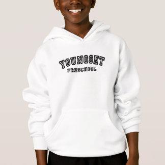 Universitair het logosweatshirt met een kap van