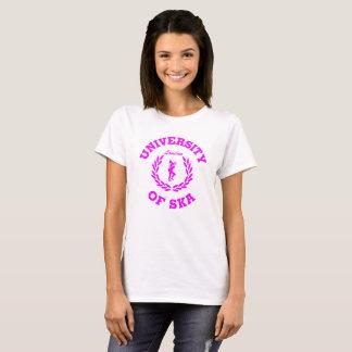 Universiteit van de damesroze van Ska Londen T Shirt