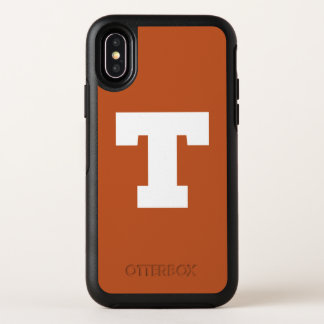 Universiteit van Texas | het Logo van Texas OtterBox Symmetry iPhone X Hoesje