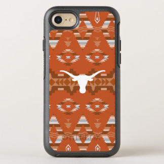 Universiteit van Texas | Inheems StammenPatroon OtterBox Symmetry iPhone 8/7 Hoesje
