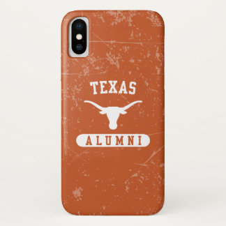 Universiteit van Texas | Longhorns Oudstudenten iPhone X Hoesje