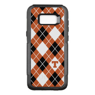 Universiteit van Texas | Patroon Argyle OtterBox Commuter Samsung Galaxy S8+ Hoesje
