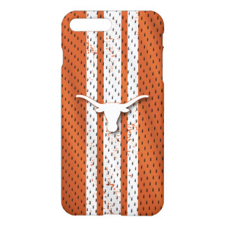 Universiteit van Texas | Patroon van Longhorns iPhone 8/7 Plus Hoesje