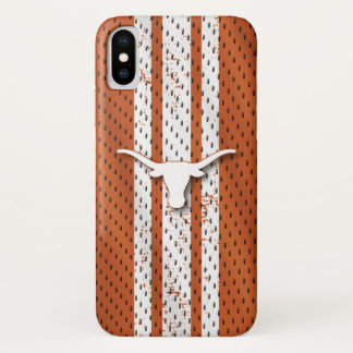Universiteit van Texas | Patroon van Longhorns iPhone X Hoesje