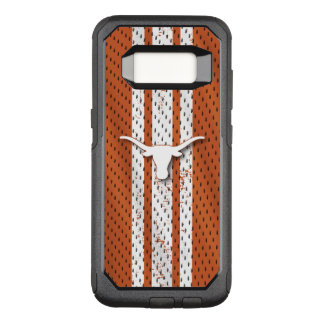 Universiteit van Texas | Patroon van Longhorns OtterBox Commuter Samsung Galaxy S8 Hoesje