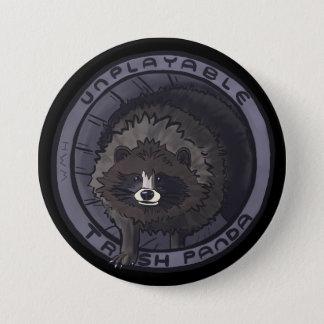 Unplayable Speld van de Panda van het Afval - Geen Ronde Button 7,6 Cm