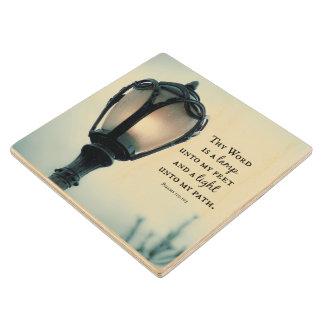 Unto van de lamp mijn Voeten, Lichte unto mijn Houten Onderzetter