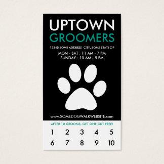 uptown huisdier het verzorgen loyaliteit visitekaartjes