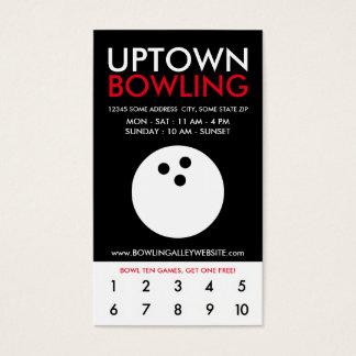uptown kegelenloyaliteit visitekaartjes