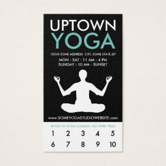 uptown yogaloyaliteit visitekaartjes