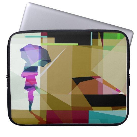 Urban rain - laptop case