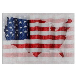 US/American de Scherpe Raad van de Vlag Snijplank
