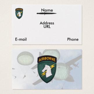 USASOC eerste speciaal de dierenartsenflard van Visitekaartjes