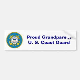 USCGSealcolor, Trotse GrandparentU. S. Kustwacht Bumpersticker