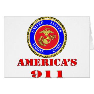 USMC Verenigde Staten Marine Amerika 911 Briefkaarten 0
