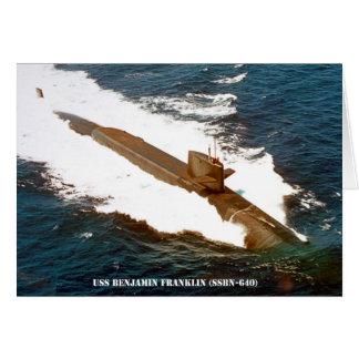 USS BENJAMIN FRANKLIN BRIEFKAARTEN 0