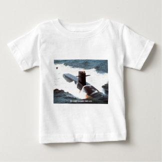 USS JAMES MONROE BABY T SHIRTS