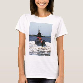 USS MARIANO G. VALLEJO T SHIRT
