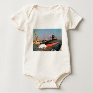 USS OBSTRUCTIE VOERT JACKSON BABY SHIRT