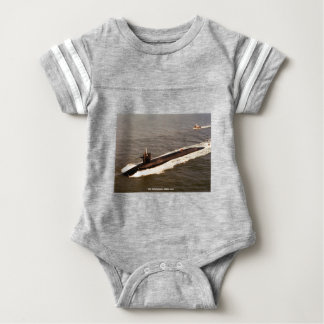 USS TENNESSEE BABY BODYSUIT